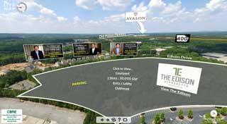 commercial real estate video idea produced for CBRE