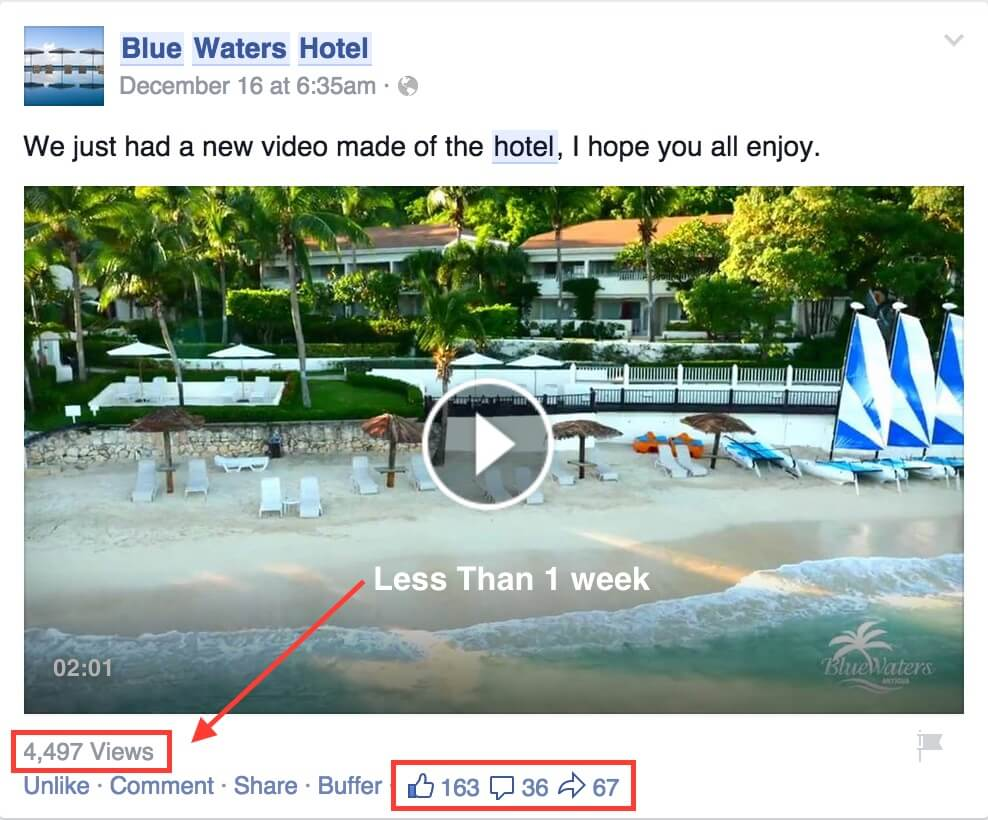Hotel Video How To Get 1000s of Views in Less Than 1 Week