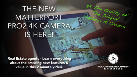 Real Estate Virtual Tours: New Matterport Pro2 Cam with 4K Resolution