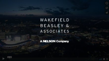 commercial real estate drone video