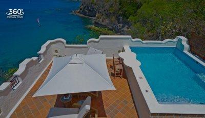 Cap Maison – 2 BR Oceanview Villa Suite with Pool & Roof Terrace 3D Model