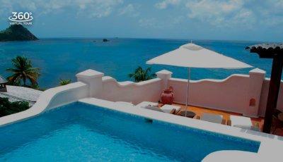 Cap Maison – 3 BR Oceanview Villa Suite with Pool & Roof Terrace 3D Model
