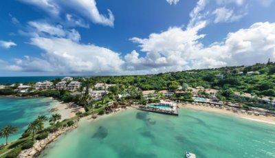 Blue Waters Resort & Spa – Antigua 3D Model