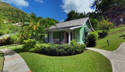 East Winds – St. Lucia – Deluxe Cottage 3D Model