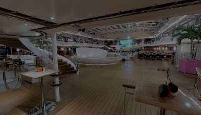 Lido Deck 3D Model