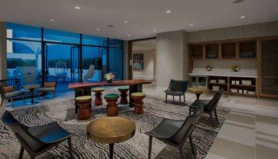 W Atlanta – Midtown – Industry 1 thru 4 Meeting Rooms 3D Model